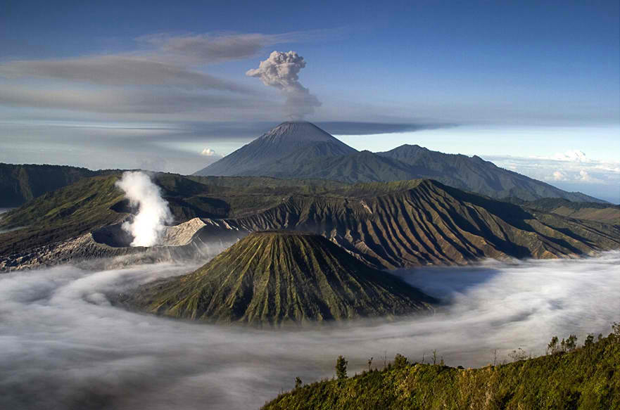 Découvrez le parc national de Bromo-Tengger-Semeru en Indonésie