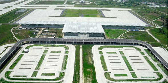 Kuala Namu, le nouvel aéroport international de Medan en Indonésie