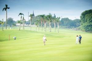 golf en indonésie